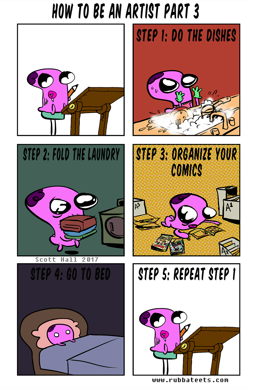 How to Comic Part 3